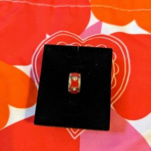 Brighton red heart charm spacer